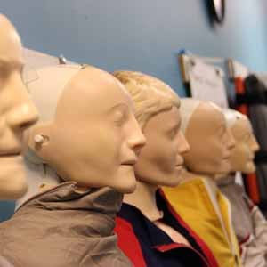 Group of CPR Dummies